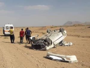 یک کشته در جاده آباده به اصفهان