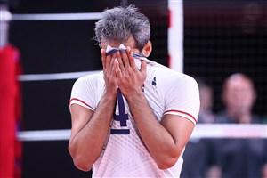 والیبال ایران؛ کلافه، غمگین و عصبانی!