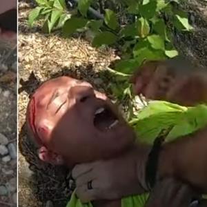حمله سخت پلیس آمریکا به یک مظنون غیرمسلح