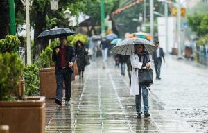 ورود سامانه بارشی و کاهش 12 درجه ای هوا در برخی نقاط کشور