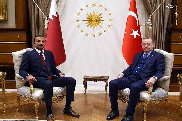 گفتگوی تلفنی اردوغان با امیر قطر