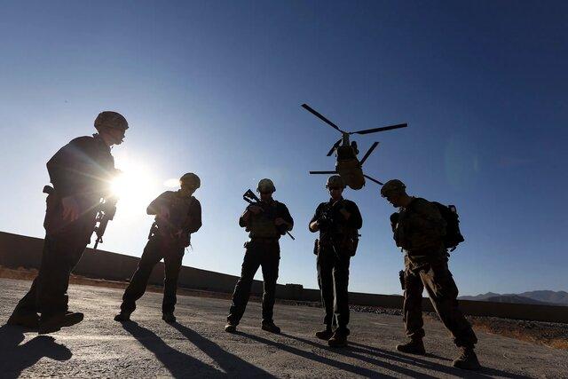 ۹۵ درصد نيروهاي آمريکايي از افغانستان خارج شدند