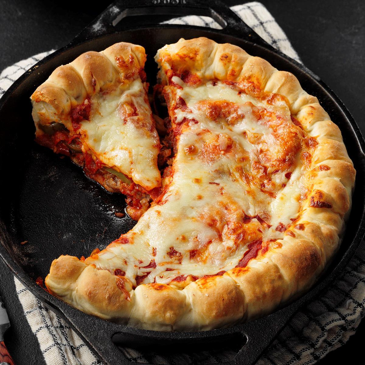غذاي ملل/ روش تهيه پيتزا پاي خوشمزه و حرفهاي