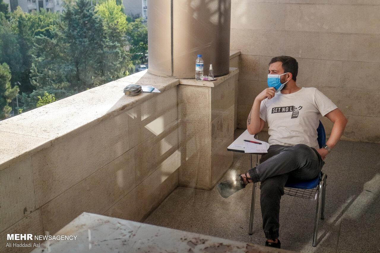 عکس/ حاشیه های دومین روز کنکور کارشناسی ارشد