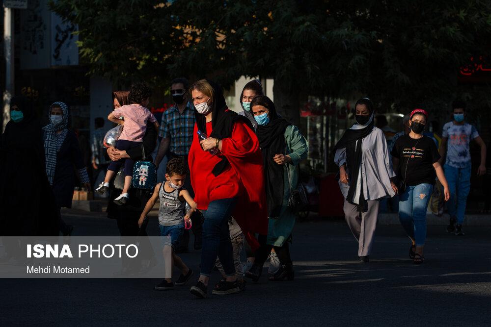 عکس/ قزوین یکپارچه قرمز