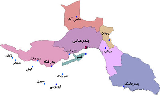 مرکز دهستان کرگان ميناب به شهر ارتقا يافت
