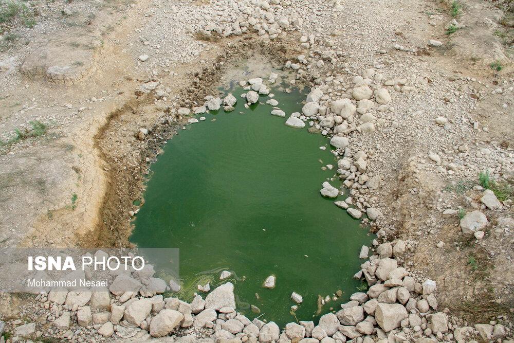 عکس/ صفر شدن ذخیره آب سدهای گلستان