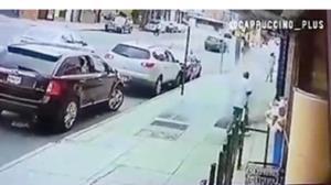 انفجار ناگهانی پیاده رو در نیویورک