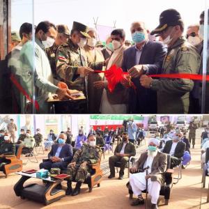 دومین بیمارستان مجهز تنفسی ارتش در خاش افتتاح شد