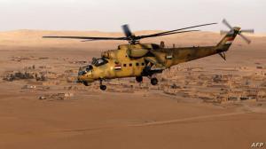۵ کشته در سقوط بالگرد عراقی