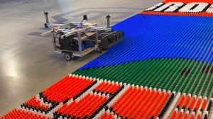 ساخت ربات رکوردشکن