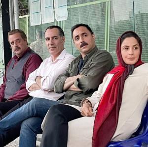 چهره ها/ عکسی از پشت صحنه سریال «دودکش»