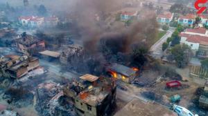 افزایش قربانیان آتش سوزی جنگل های ترکیه