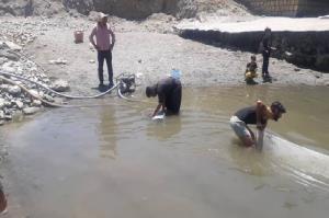 اقدام به موقع، جان هزاران قطعه ماهی را در اشنویه از مرگ نجات داد