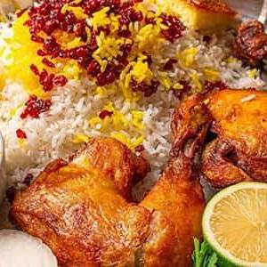 زرشک پلو با مرغ حرفه ای به روش رستورانی