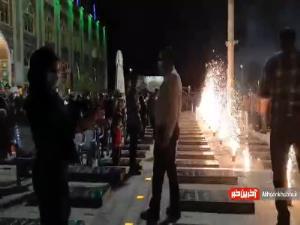 جشن عید غدیر در جوار مزار سردار دلها