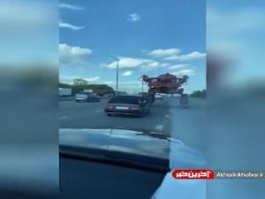 با این ماشین دیگه تو ترافیک نمیمونی!