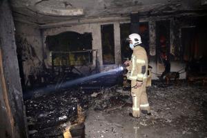 آتشسوزی در آبادان جان ۲ کودک را گرفت