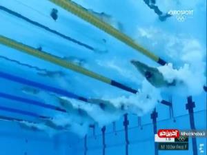 رکورد 100 متر آزاد پس از 12 سال شکست