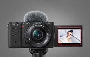 سونی از دوربین ZV-E10 برای ولاگرها رونمایی کرد