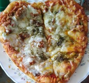 از شما/پیتزای قلب madsa