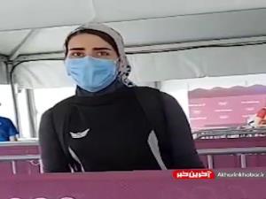 هانیه رستمیان: بعد از عنوان دوازدهمی در ماده ۲۵ متر تپانچه در بخش دقت به رکوردهای تمرینم نرسیدم