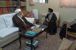 وزیر اطلاعات با مراجع تقلید دیدار کرد