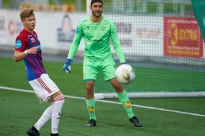 دروازهبان سوئدی مقابل ایران بازی میکند
