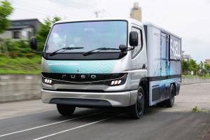 کامیون جدید میتسوبیشی فوسو F-CELL، تکنولوژی سلول سوختی