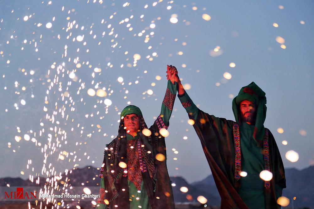 آیین بازسازی واقعه غدیر در کرمان