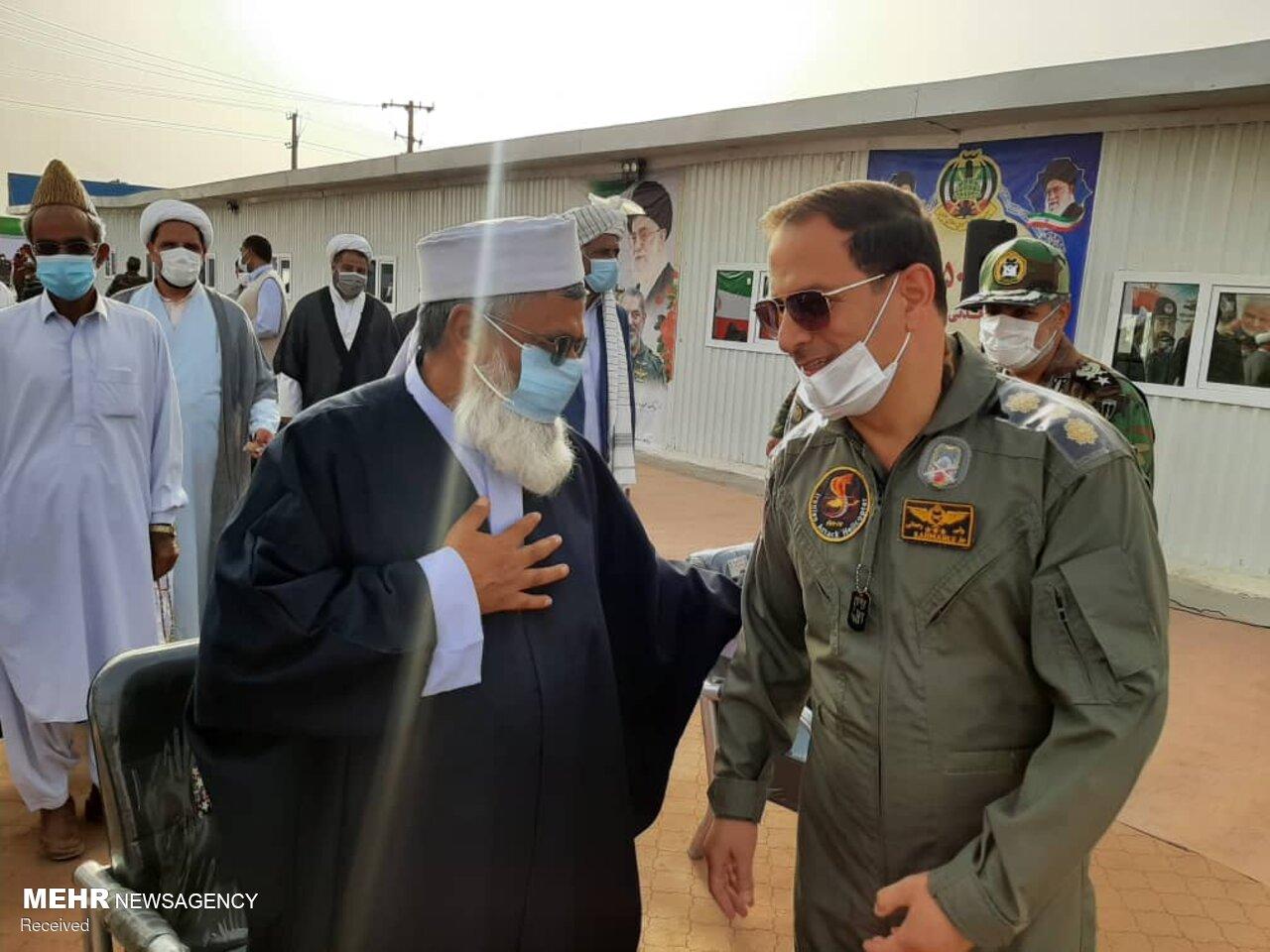 عکس/ افتتاح دومین بیمارستان تنفسی نیروی زمینی ارتش در خاش