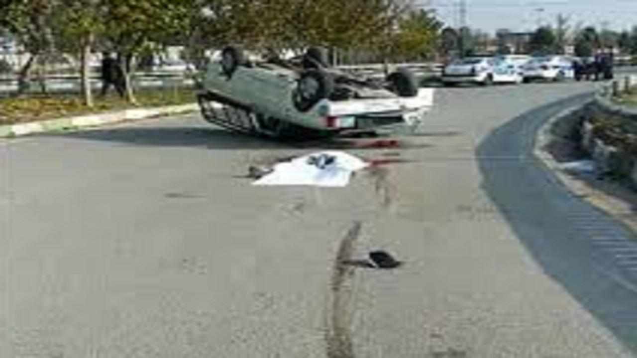 بياحتياطي راننده در شهرکرد حادثه آفريد
