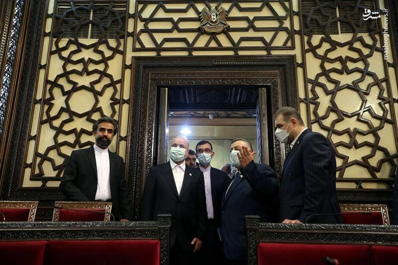 عکس/ معماری عربی جالب پارلمان سوریه