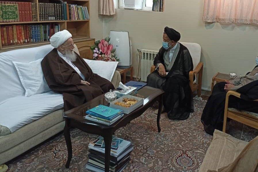 وزير اطلاعات با مراجع تقليد ديدار کرد