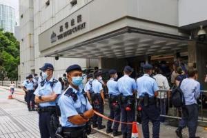 مرد هنگکنگی در نخستین پرونده امنیت ملی به ۹ سال حبس محکوم شد