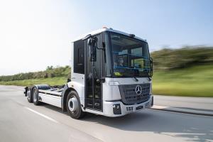 کامیون جدید مرسدس بنز eEconic به زودی عرضه می شود