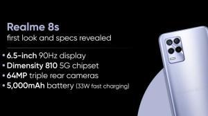 گوشی Realme 8S با تراشه Dimensity 810 به زودی معرفی میشود