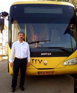 راننده اتوبوس رانی ذزفول سال ۹۱