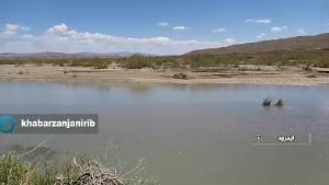 روزهای گرم تابستان و کمبود آب در برخی روستاهای زنجان