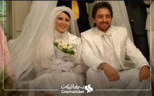 تصاویری از عروس و دامادهای به یادماندنی سینما