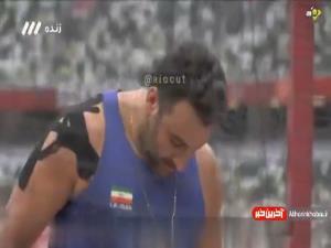 3 پرتاب احسان حدادی در المپیک