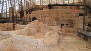 کشف اتاق غذاخوری باستانی ۵۰ فوت زیر زمین در ترکیه!