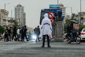 احتمال بارش باران در سطح استان تهران