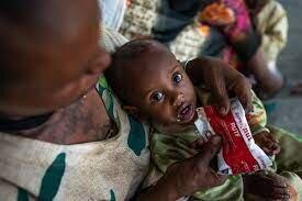 یونیسف: ۱۰۰ هزار کودک تیگرای در معرض خطر مرگ ناشی از سوءتغذیه قرار دارند