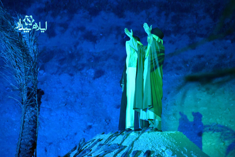 بازخواني واقعه غدير در ايلام به روايت تصوير