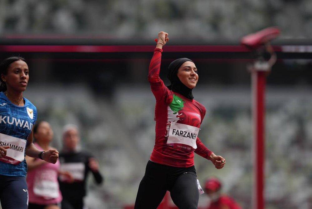 عکس/ صحنه های زیبا از مسابقه دختر بادپای ایران