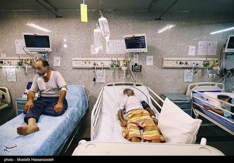 عکس/ بیمارستان های گنبد کاووس در پیک پنجم کرونا