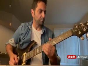 بداهه نوازی ساز گیتار الکتریک را ببینید