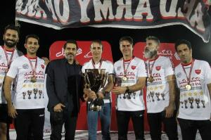 آقا کریم غایب بزرگ پرسپولیس در جشن قهرمانی!