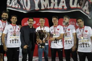 غایب جشن قهرمانی پرسپولیس